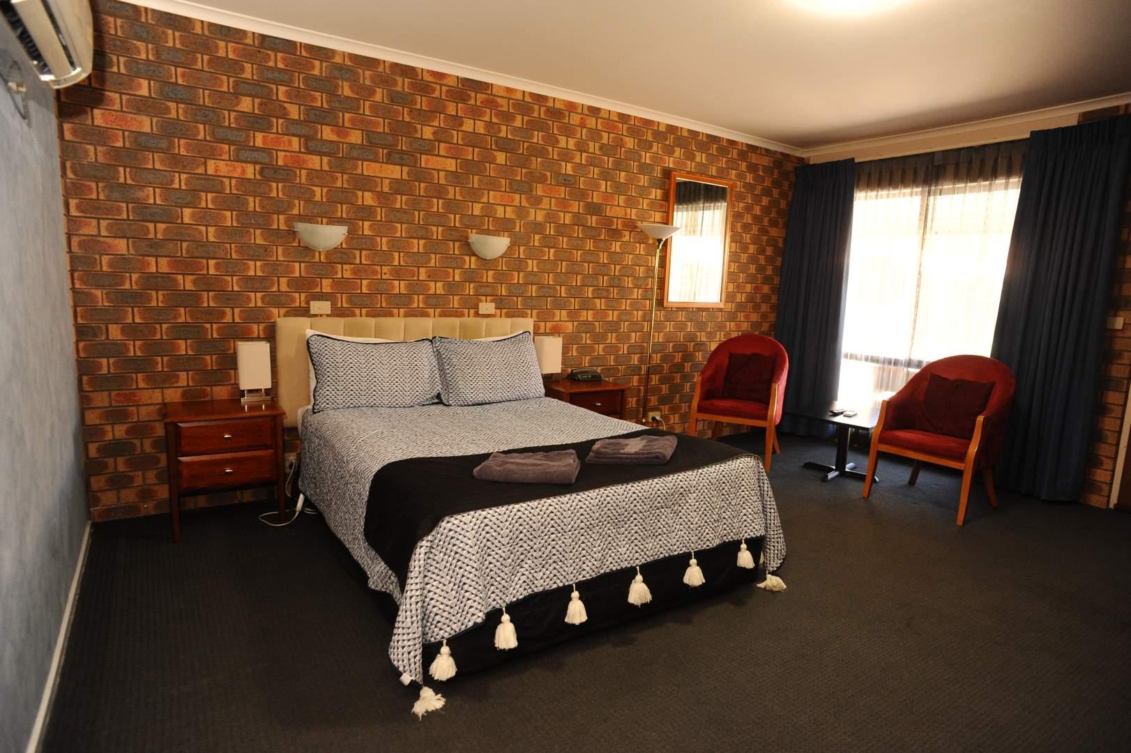 Horsham Mid_City Motel Standard Room