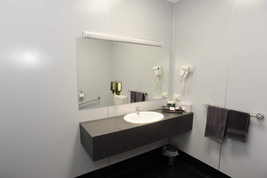 Horsham Mid_City Motel Twin Room Bath