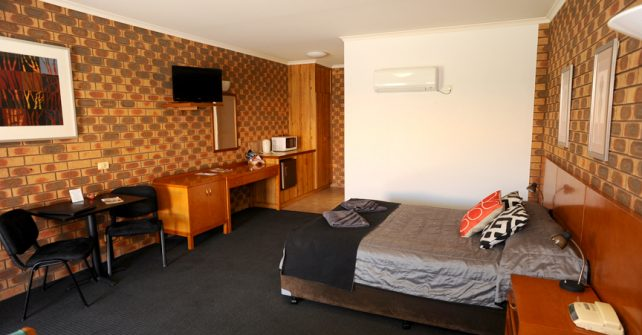 Horsham Midcity Motel Twin Room