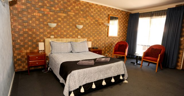 Horsham Midcity Motel Standard Room